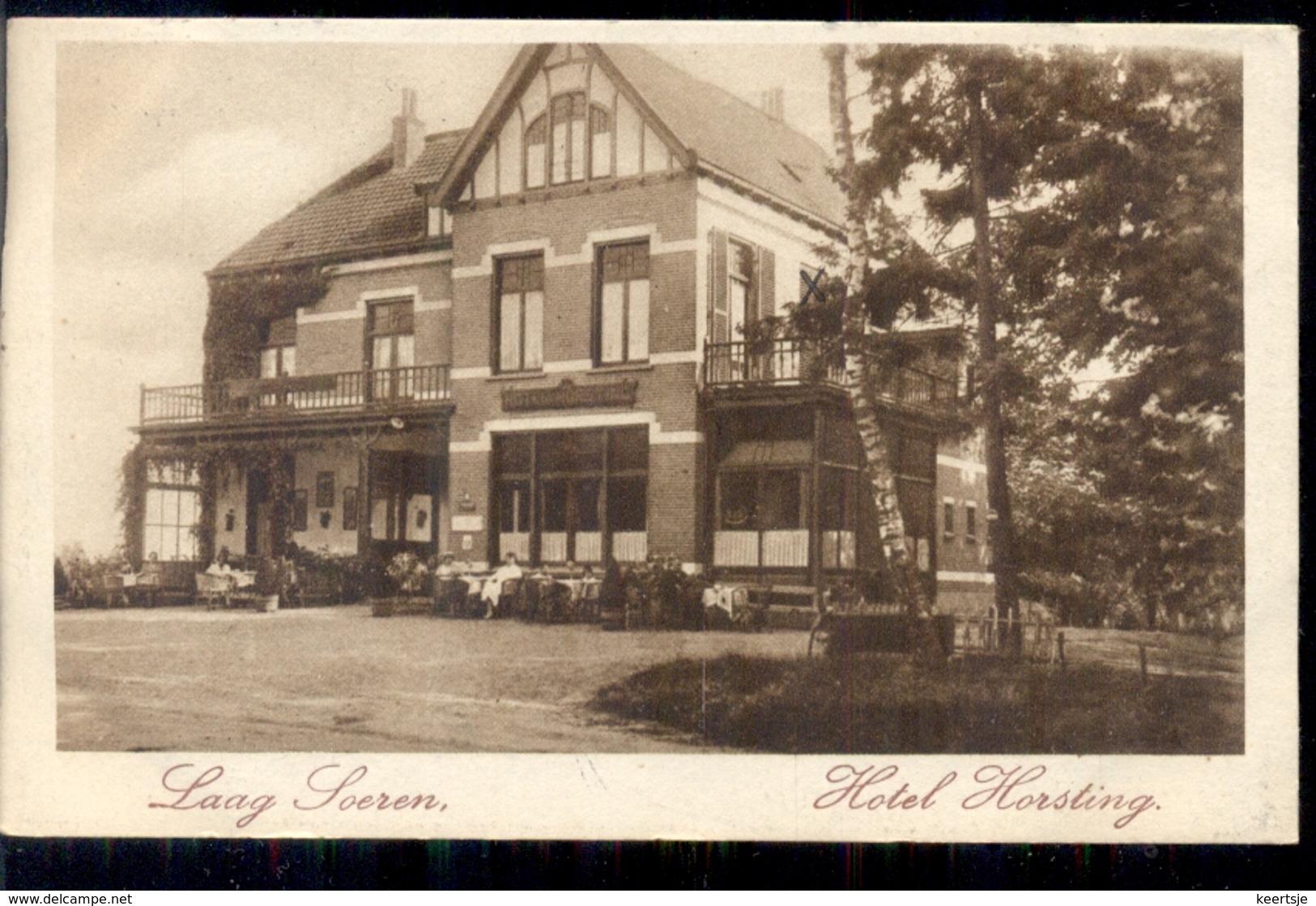 Laag Soeren - Hotel Horsting - 1929 - Autres