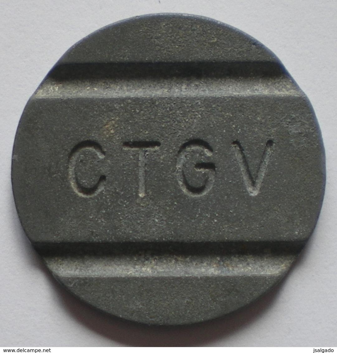 Brasil Telephone Token      CTGV   1  F  3 - Monétaires / De Nécessité