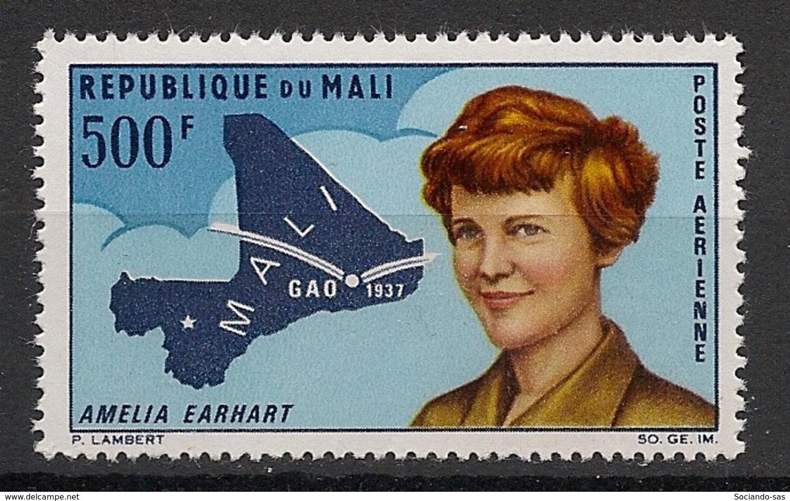 Mali - 1967 - Poste Aérienne PA N°Yv. 45 - Amelia Earhart - Neuf Luxe ** / MNH / Postfrisch - Mali (1959-...)