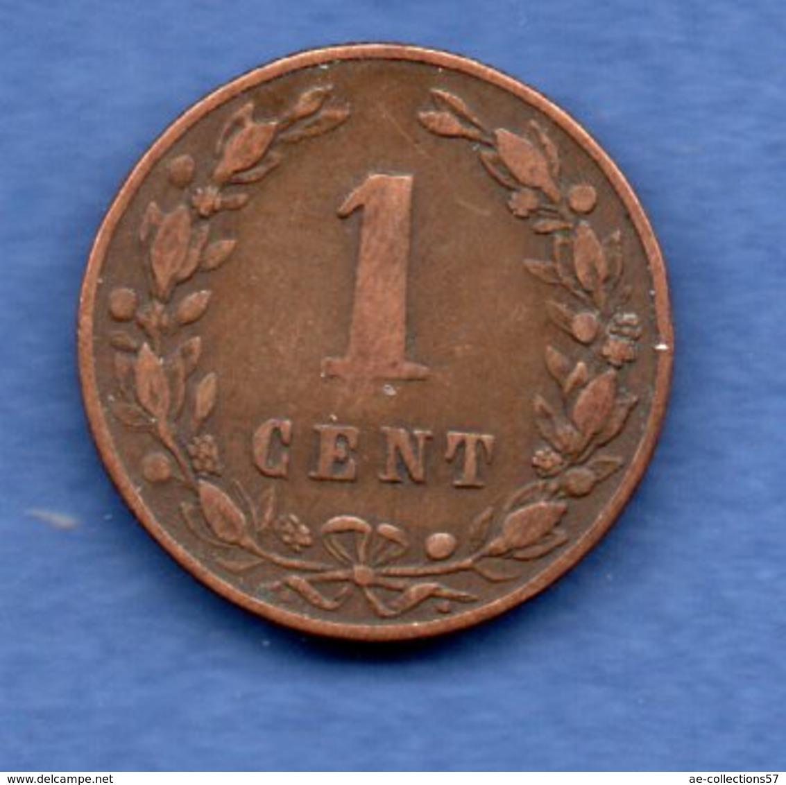 Pays Bas  - 1 Cent 1880   - état  TB - [ 3] 1815-… : Koninkrijk Der Nederlanden