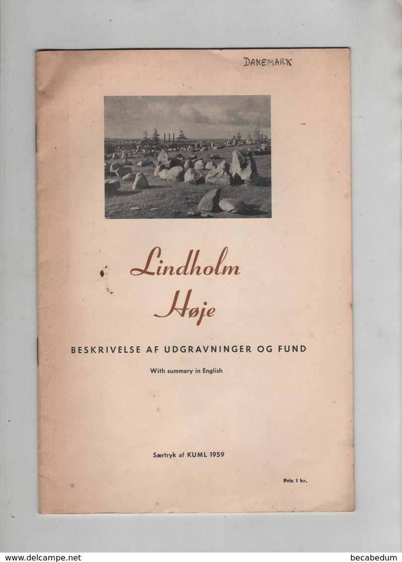 Lindholm Hoje Beskrivelse Af Udgravninger Og Fund 1959 - Books, Magazines, Comics