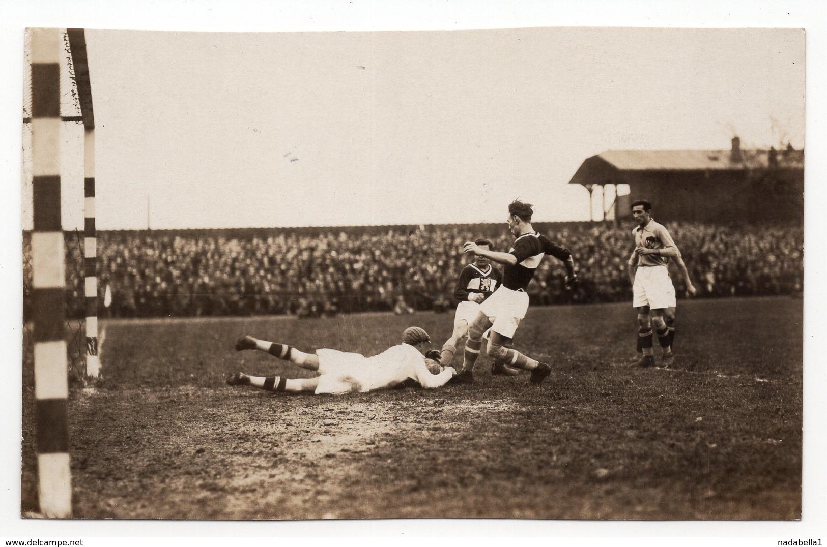 28.10.1923 CZECH REPUBLIC, PRAHA, FRIENDLY INTERNATIONAL CZECH R-YUGOSLAVIA, 4:4 - Sports