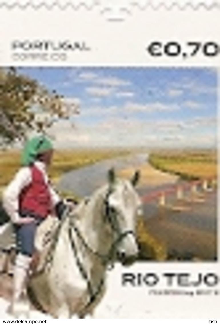 Portugal ** & Lusitan Horse And The Tagus River 2018 (650) - 1910 - ... Repubblica