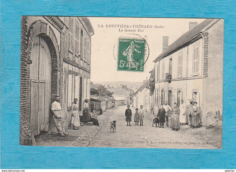 La Louptière-Thénard. - La Grande Rue. - Autres Communes