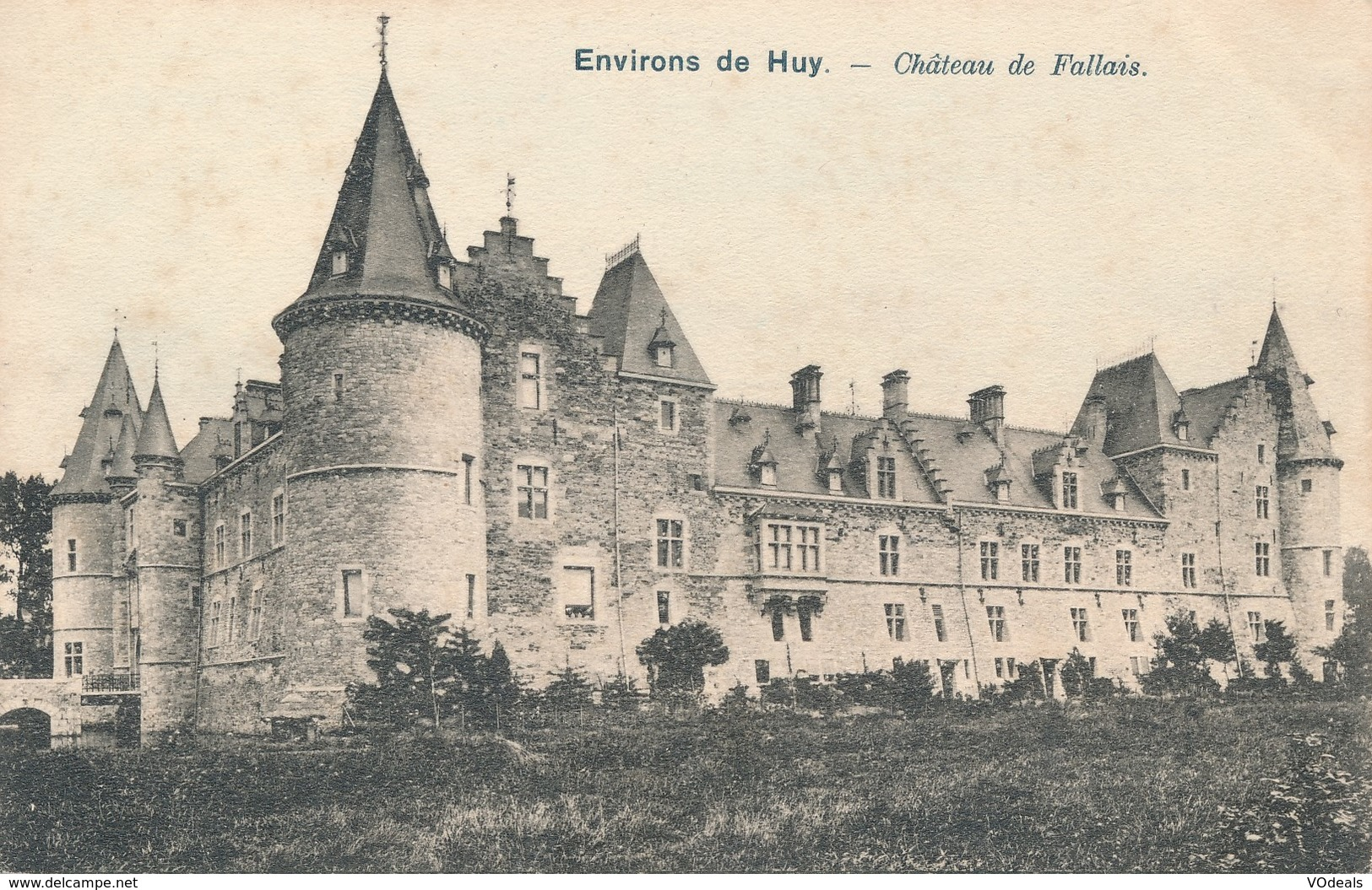 CPA - Belgique - Huy - Château De Fallais - Huy