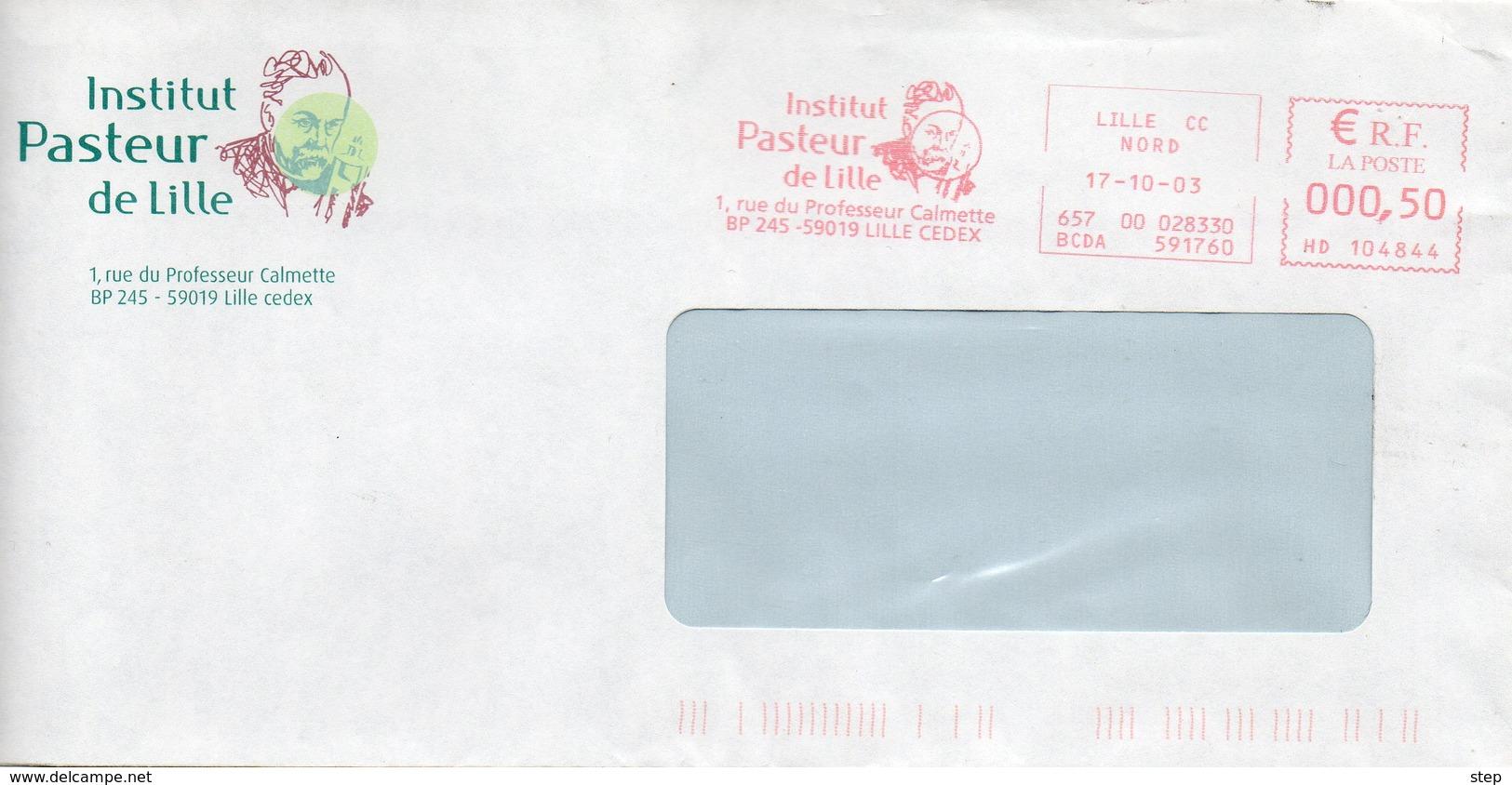 LILLE (NORD) : Louis PASTEUR EMA Rouge 2003 Institut PASTEUR - Louis Pasteur