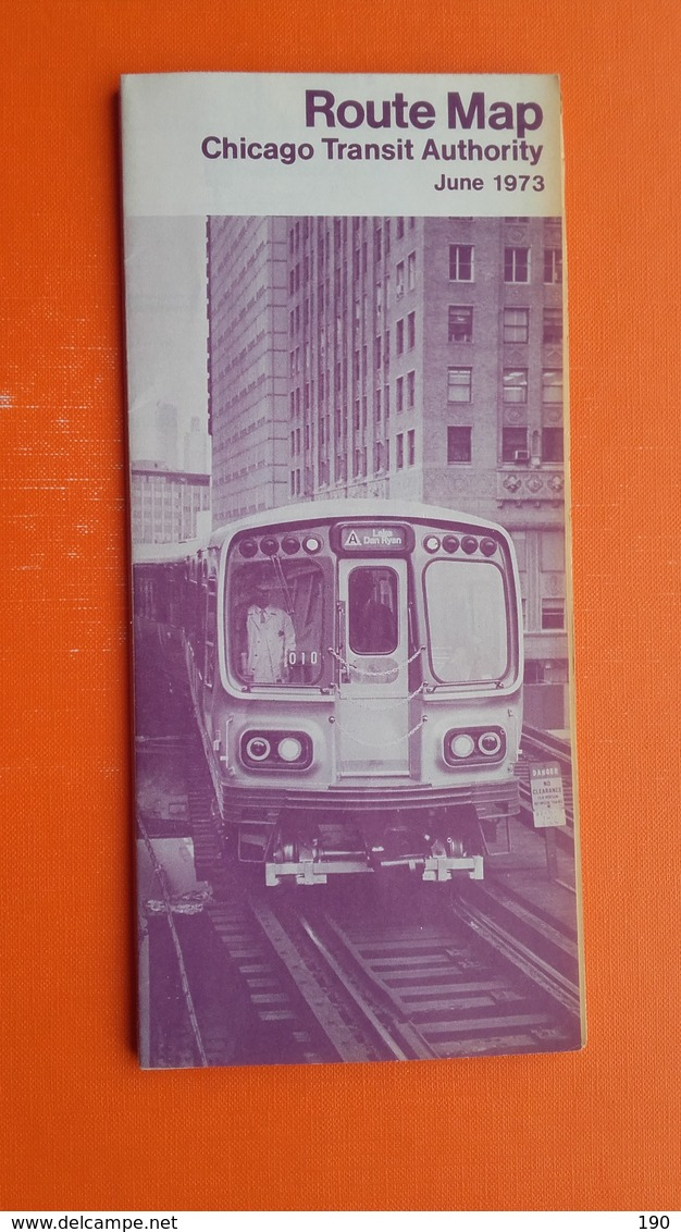 Route Map.Chicago Transit Autority - World