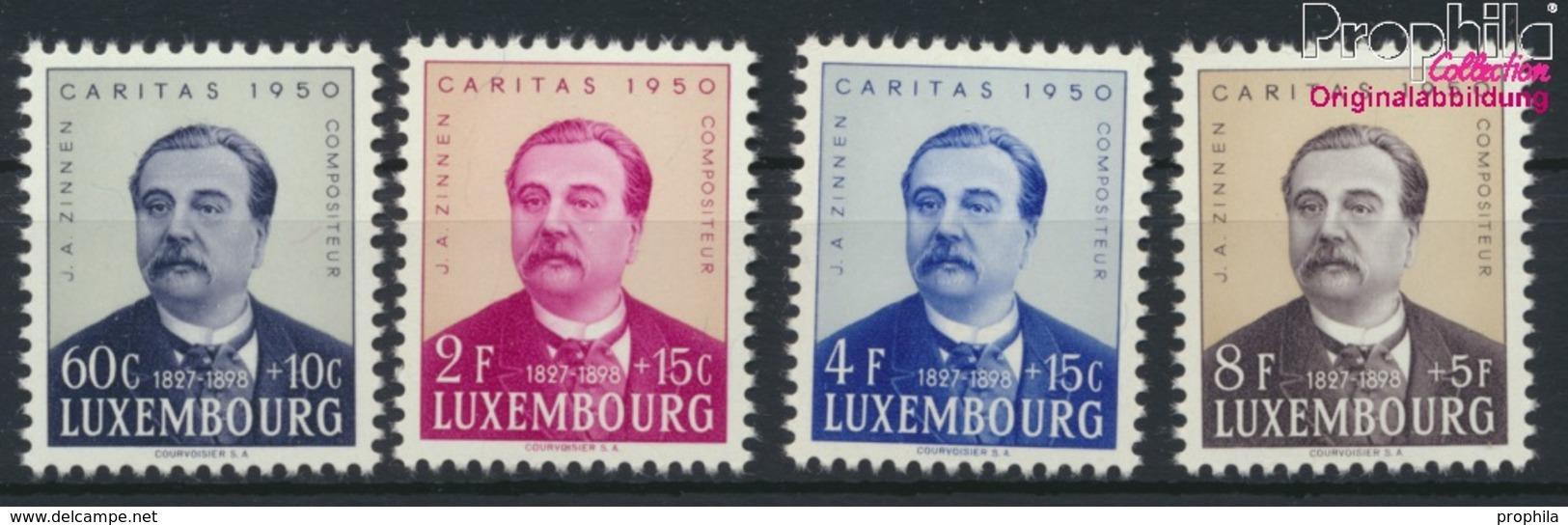 Luxemburg 474-477 (kompl.Ausg.) Postfrisch 1950 Caritas (9256432 - Ungebraucht