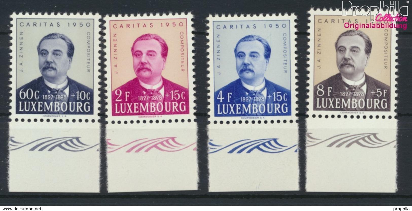 Luxemburg 474-477 (kompl.Ausg.) Postfrisch 1950 Caritas (9256438 - Ungebraucht