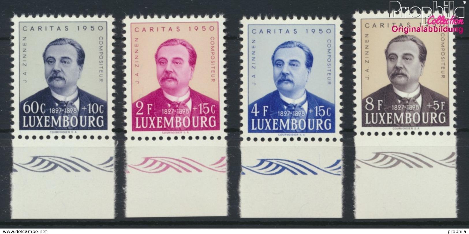 Luxemburg 474-477 (kompl.Ausg.) Postfrisch 1950 Caritas (9256440 - Ungebraucht
