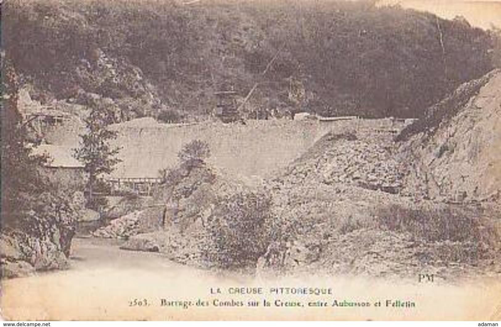 Creuse        147        Barrage Des Combes Sur La Creuse ....... - Autres Communes