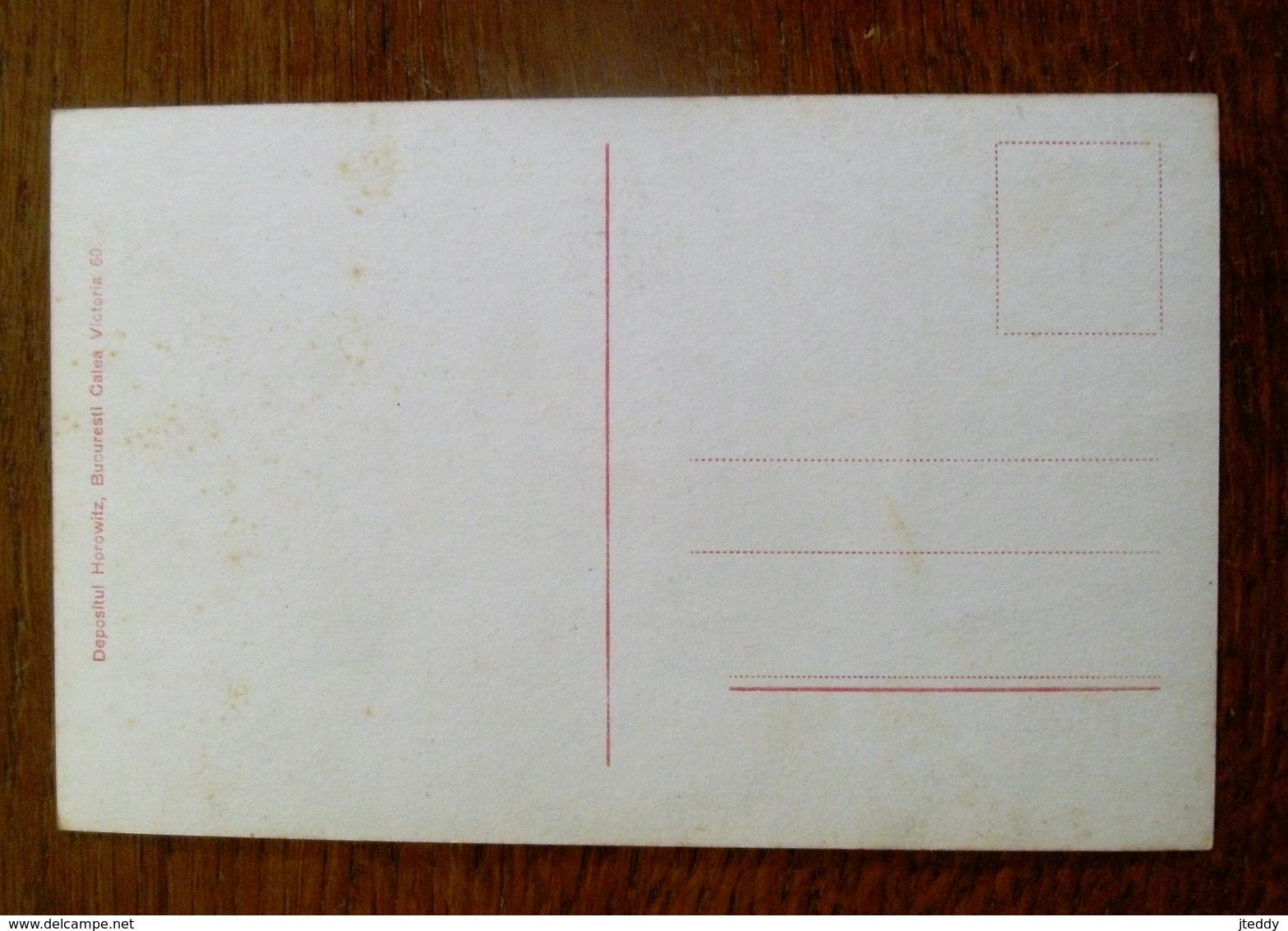 Oude Postkaart Vànzàtori De Cornuri  Depositul  HORROWITZ  BUCURESTI - Roumanie
