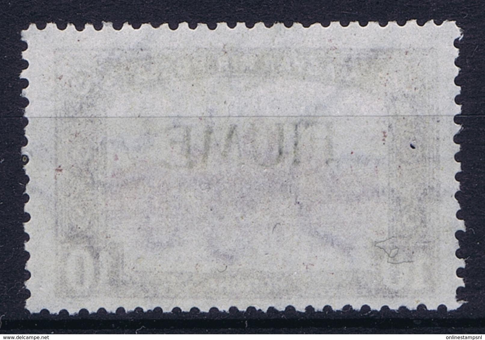 Fiume Mi 25 I Buchdruck Aufdruck  Not Used (*) SG - 8. Besetzung 1. WK