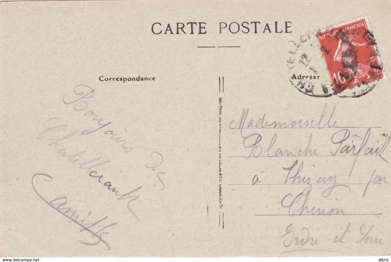 86-CHATELLERAULT- ECOLE DE LA PLACE ST-MARC-ANIMÉE - Chatellerault