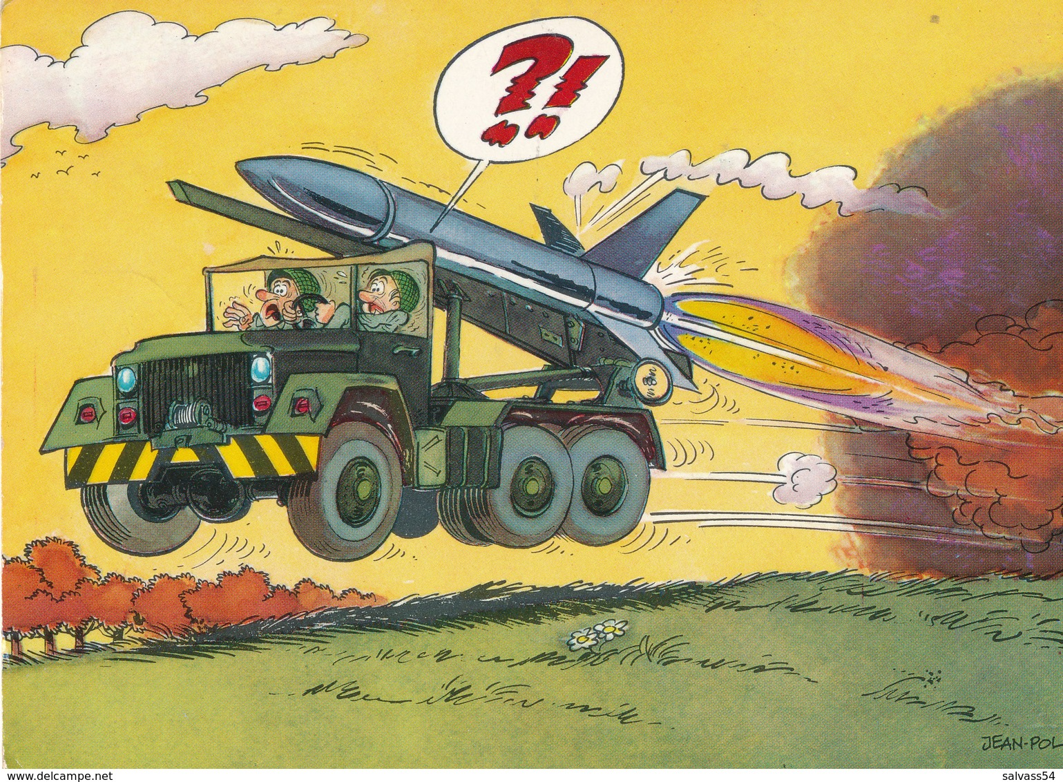 HUMOUR : Militaire - (JEAN-POL) - 1978 (3) - Humour