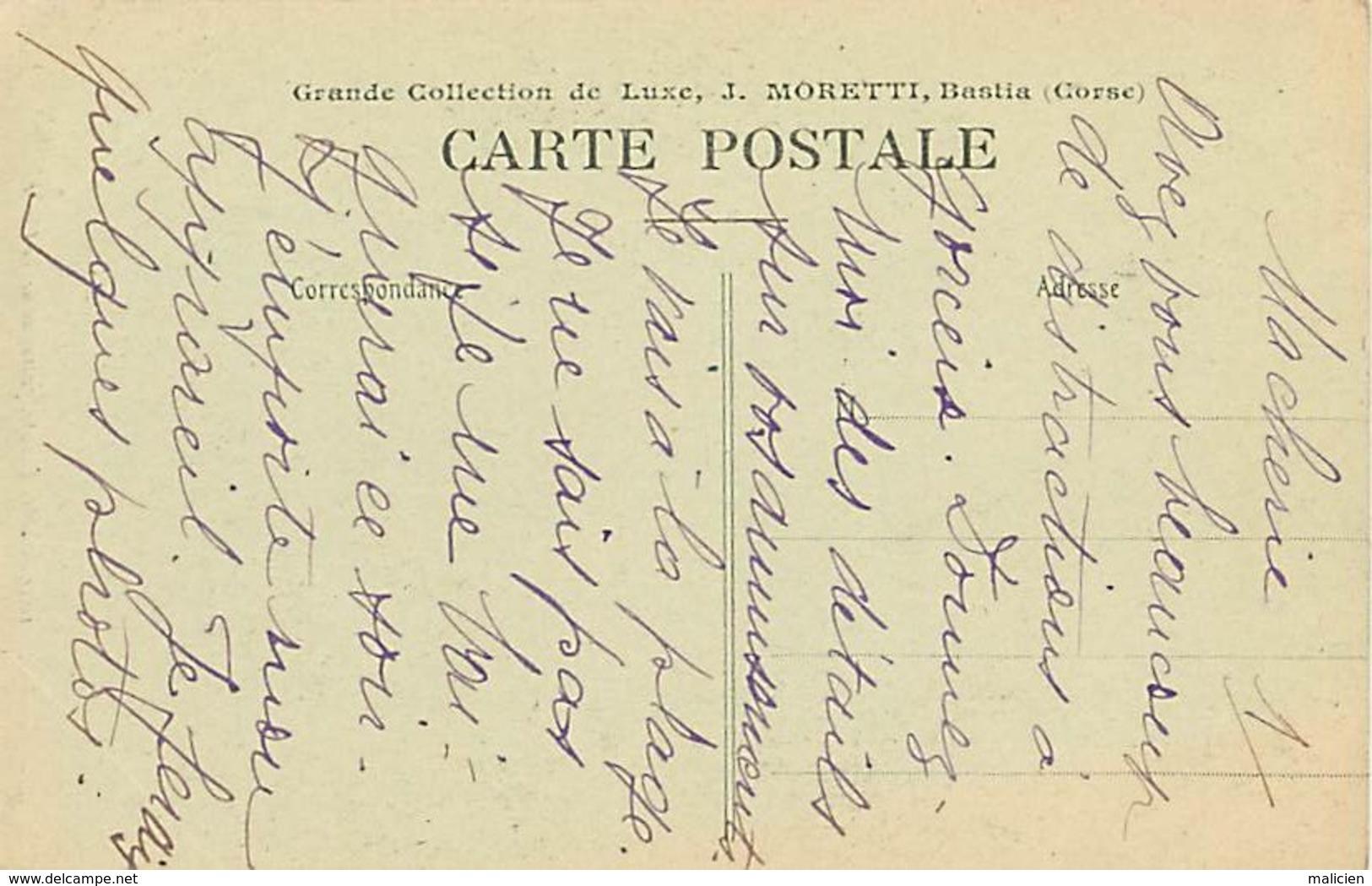 - Dpts Div.-ref-AH863- Haute Corse - Sainte Devote - Ste Devote - Patronne De La Corse - Edit. Moretti - N° 1039 - - France