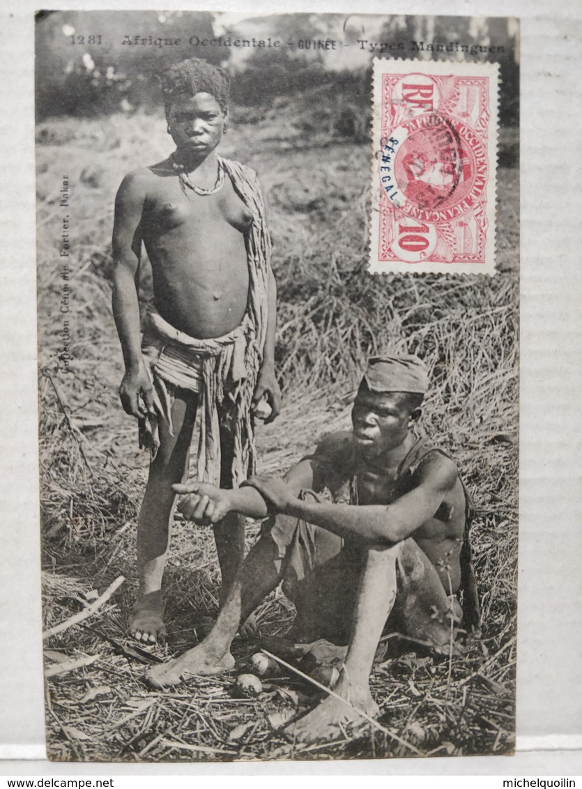 Guinée. Types Mandingues - Sénégal