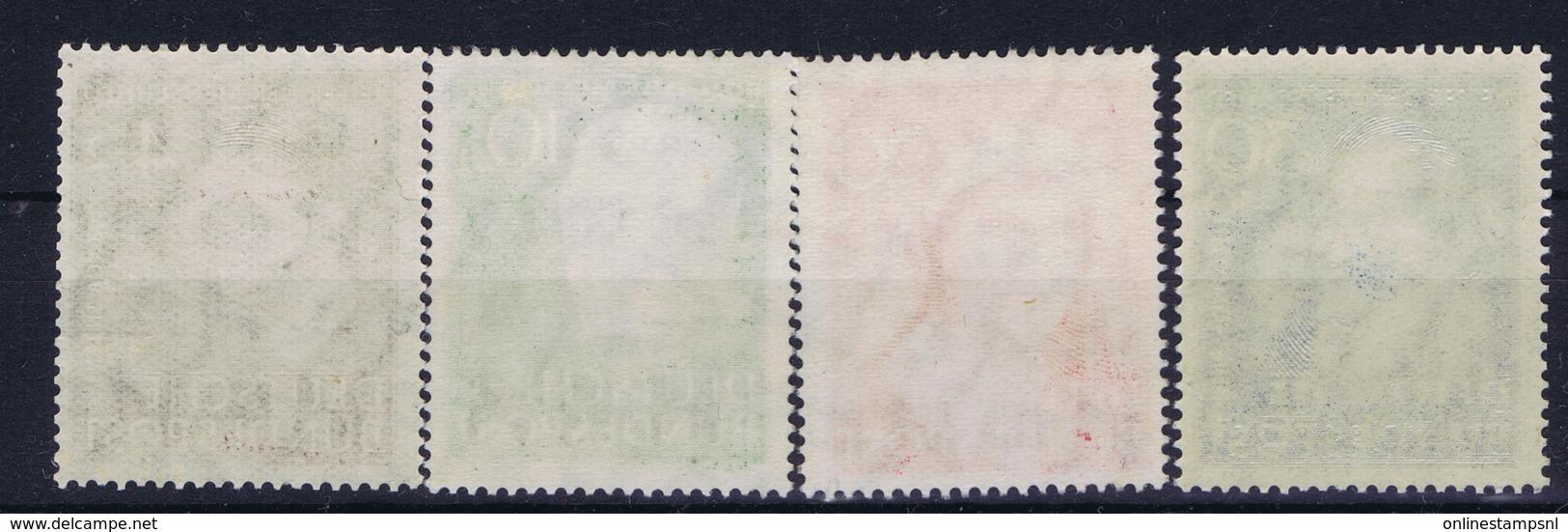 Bundespost: Mi 143 - 146 Postfrisch/neuf Sans Charniere /MNH/**   1951 - [7] Repubblica Federale