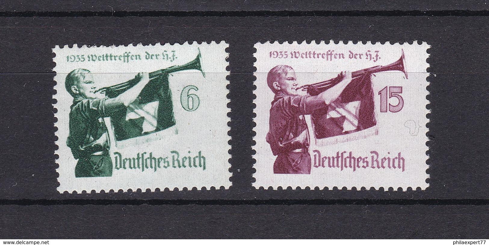 Deutsches Reich - 1935 - Michel Nr. 584/585 - Ungebr. - Deutschland