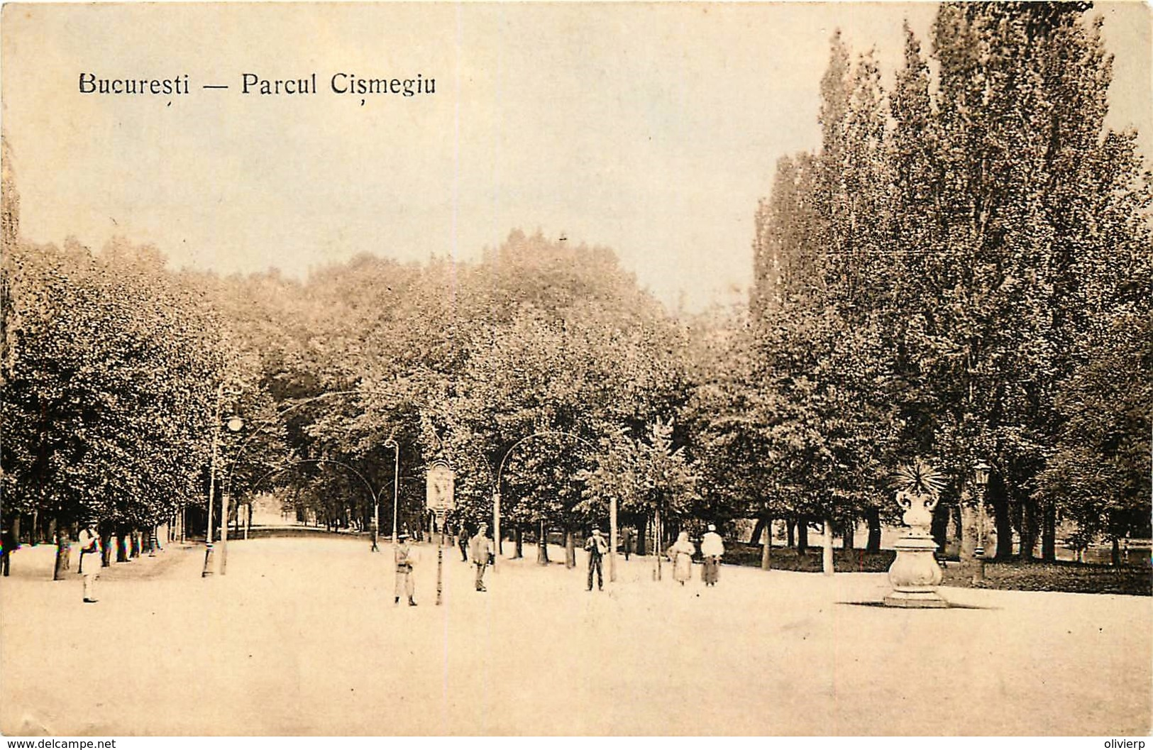 Roumanie - Parcul Cismegiu - Roumanie