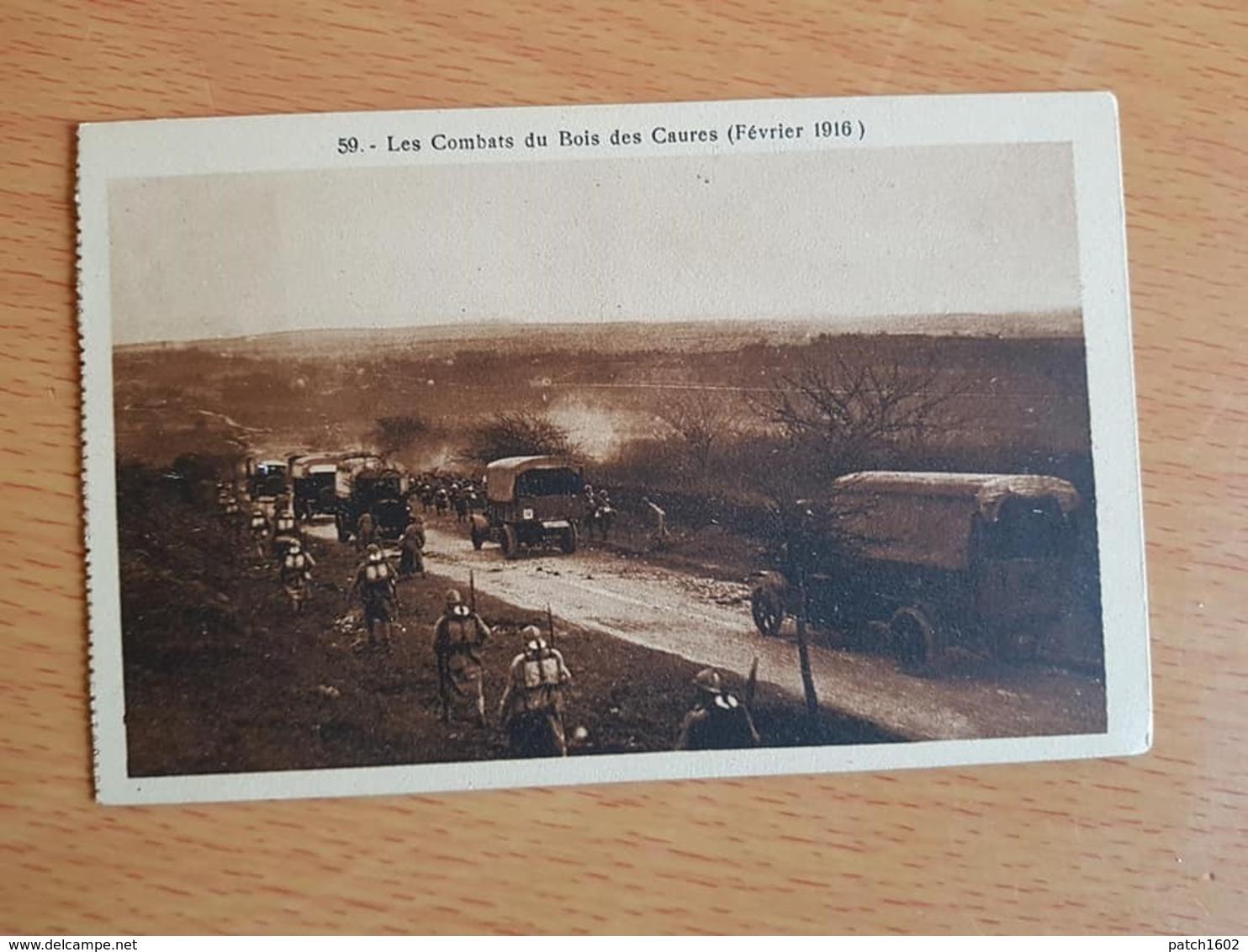 Les Combats Du Bois Des Caures Verdun Février 1916 - Oorlog 1914-18