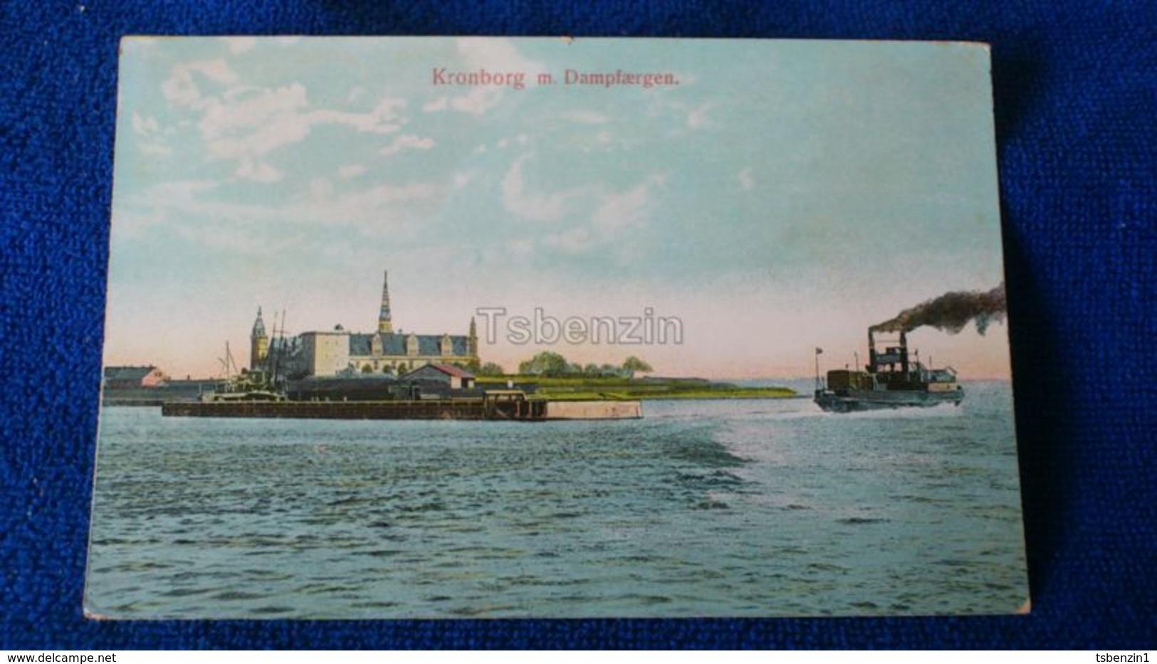 Kronborg M. Dampfaergen Denmark - Danimarca