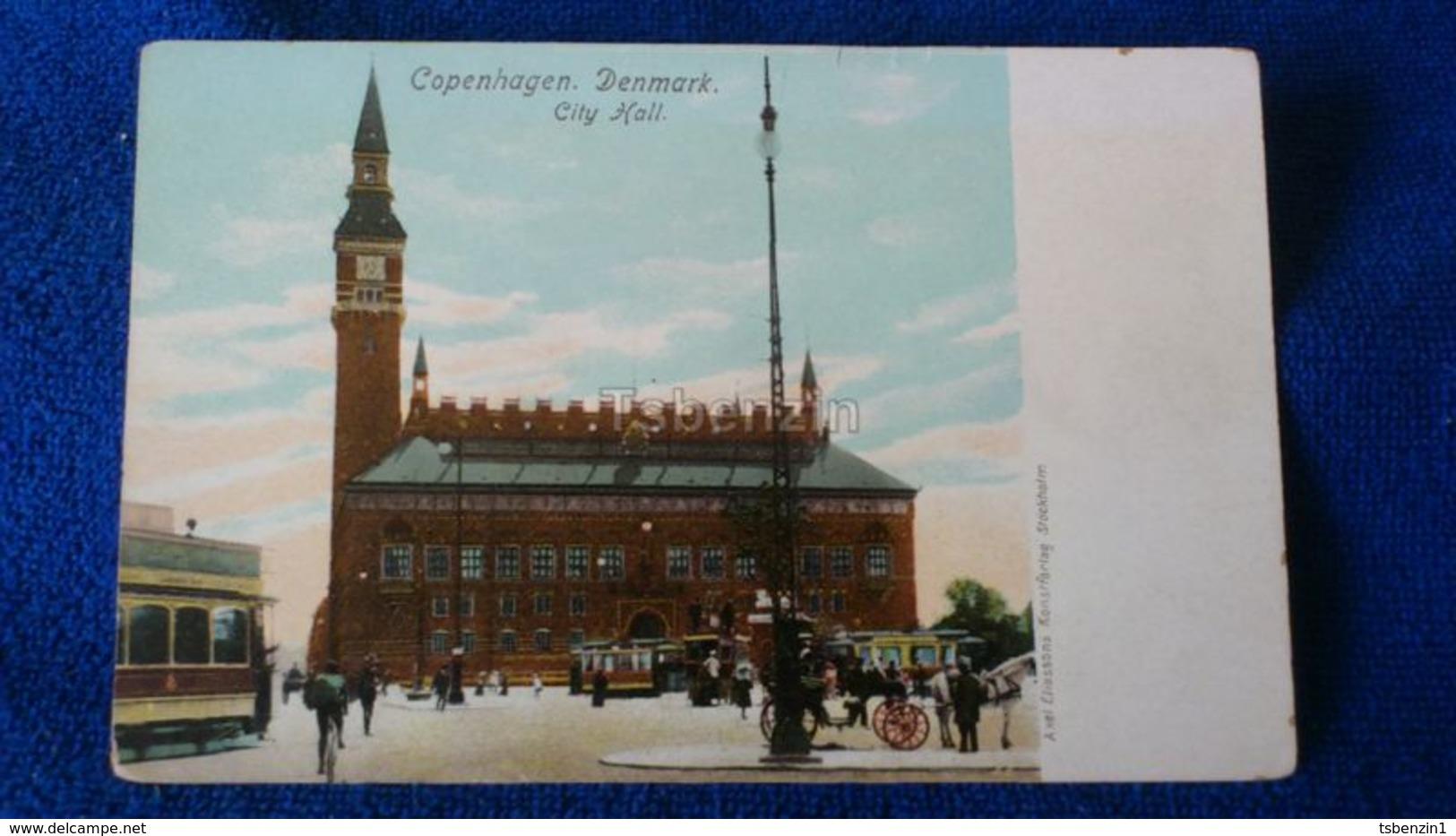 Copenhagen City Hall Denmark - Danimarca