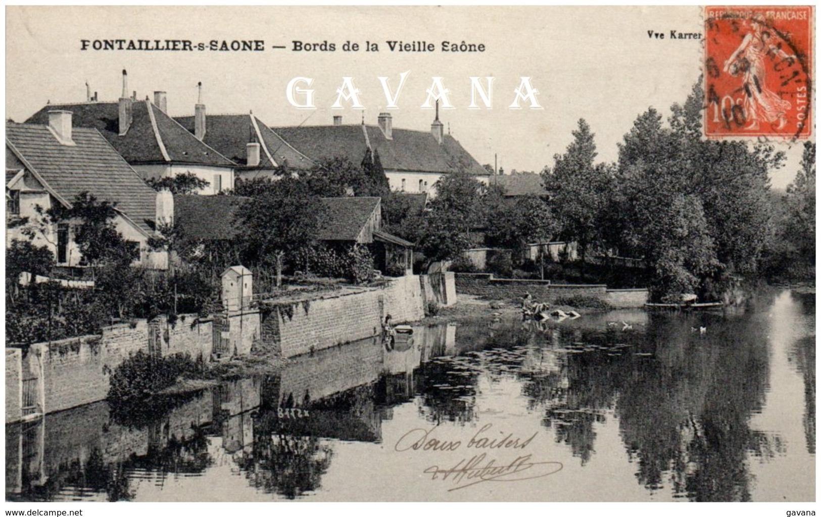 21 PONTAILLER-sur-SAONE - Bords De La Vieille Saône - Autres Communes