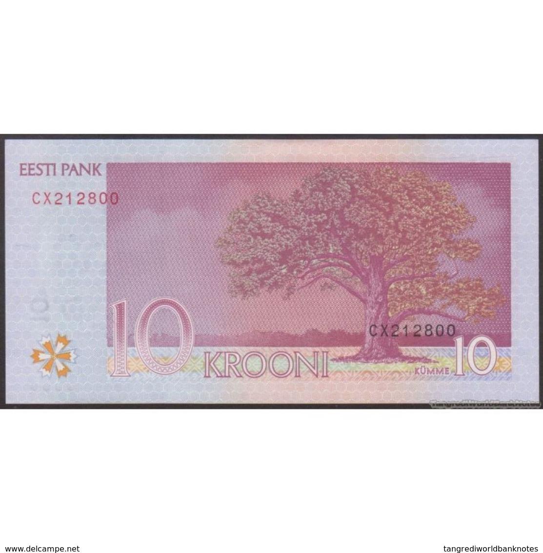 TWN - ESTONIA 86b - 10 Krooni 2007 Prefix CX UNC - Estonia