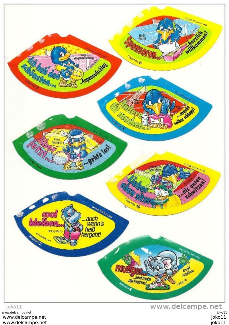7 Verschiedene Hütchenbilder Aus Den 90er Jahren - Maxi (Kinder-)