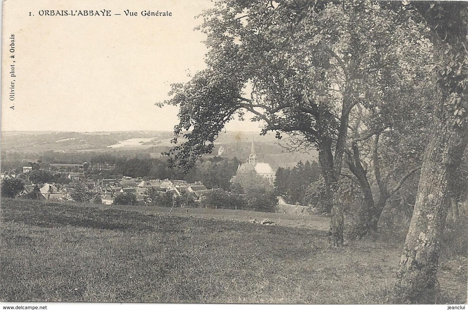 1. ORBAIS-L'ABBAYE . VUE GENERALE - Autres Communes