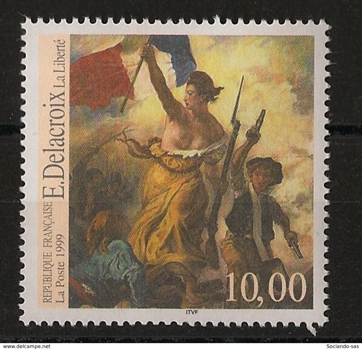 France - 1999 - N°Yv. 3236 - Liberté / Delacroix - Neuf Luxe ** / MNH / Postfrisch - Unused Stamps