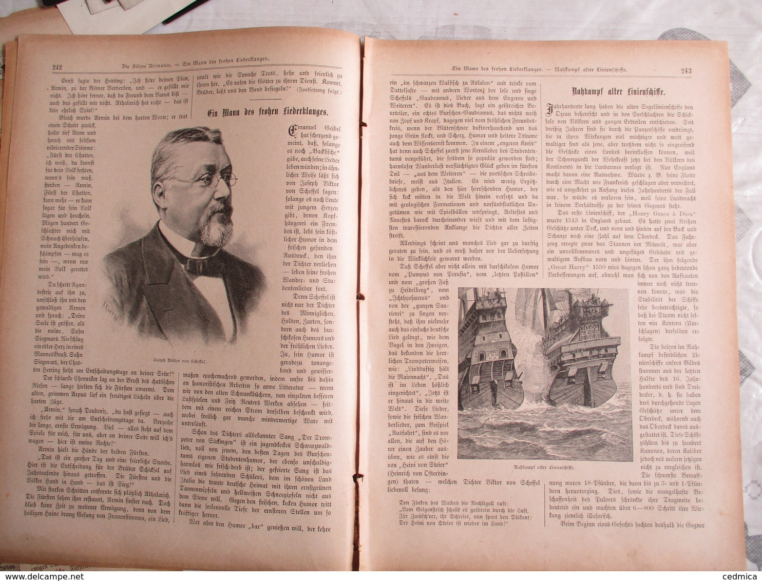 DER GUTE KAMERAD N°18  9. JAHRGANG 1896 - Revues & Journaux
