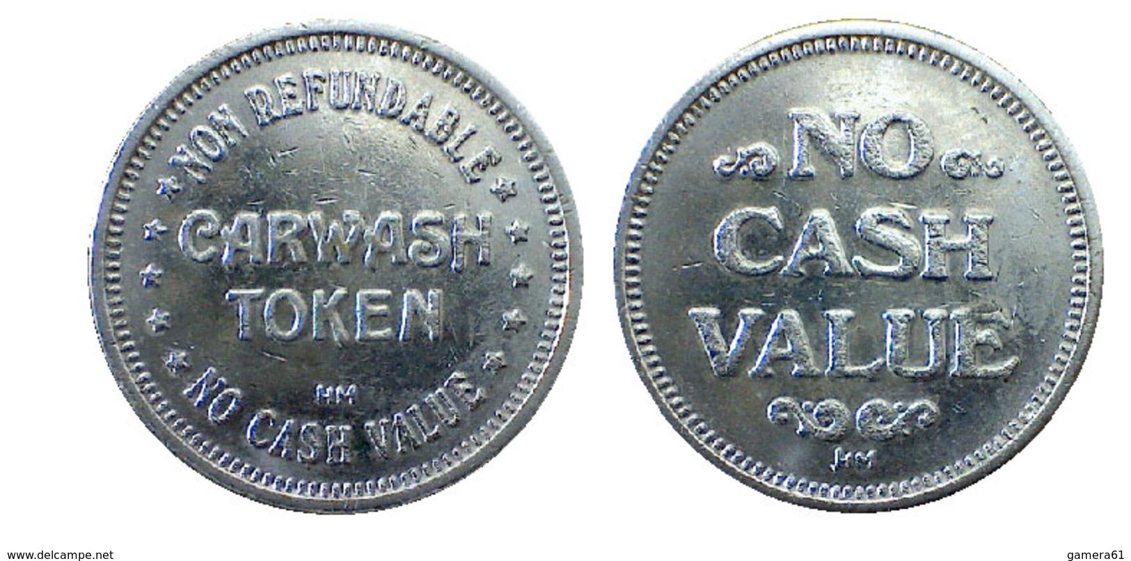 04443 GETTONE TOKEN JETON AUTOLAVAGGIO CAR WASH TOKEN - USA