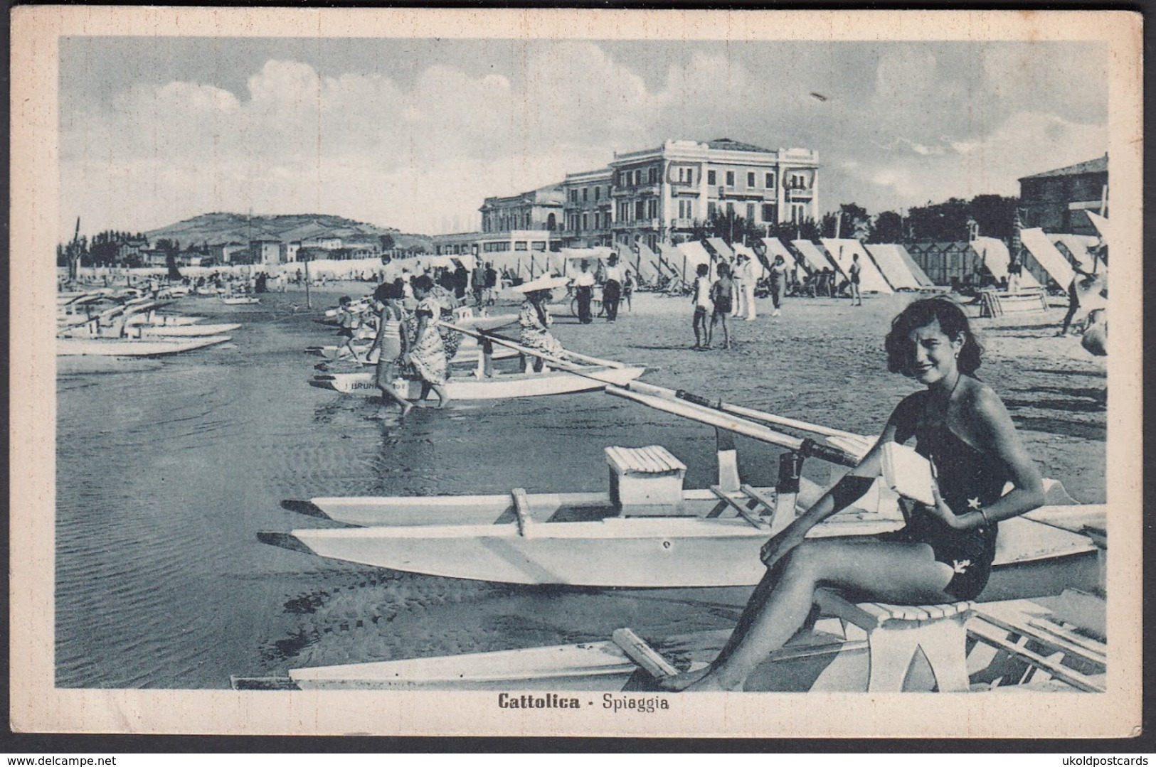 Italia  -  CATTOLICA, Spiaggia - Rimini