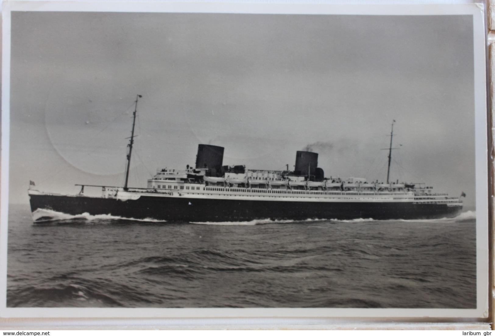 """AK Bremerhaven Norddeutscher Lloyddampfer """"Bremen"""" 1938 Gebraucht #PD625 - Alemania"""