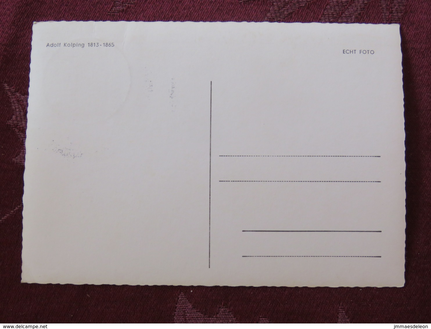 "Germany 1964 Special Cancel On Maxicard "" Adolf Kolping "" To - Briefe U. Dokumente"