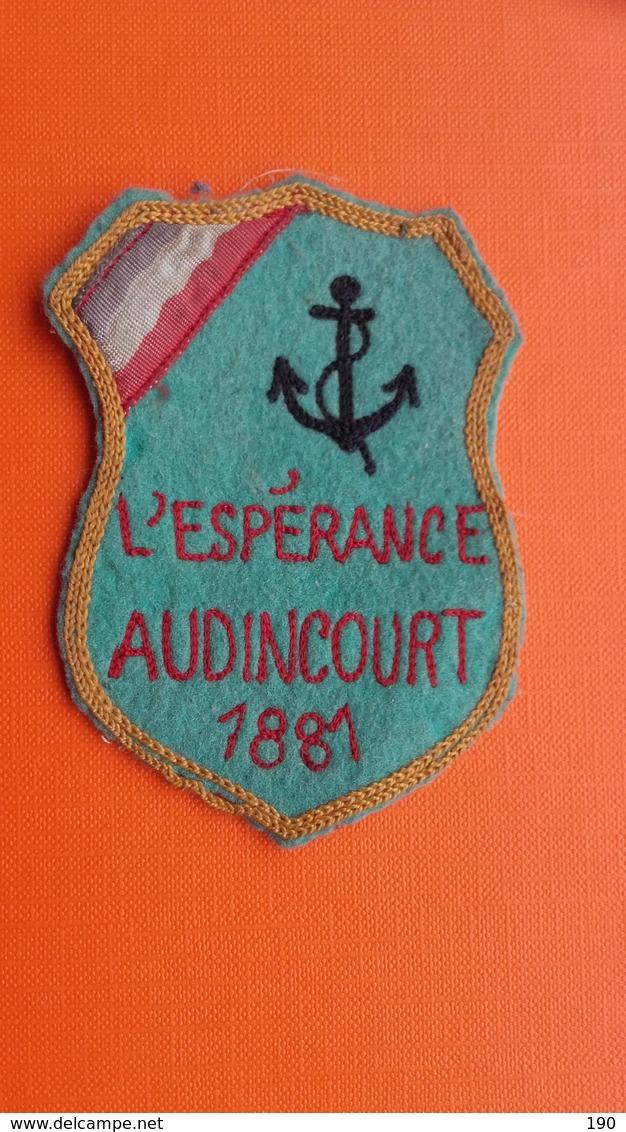 """L""""ESPERANCE AUDINCOURT 1881 - Patches"""