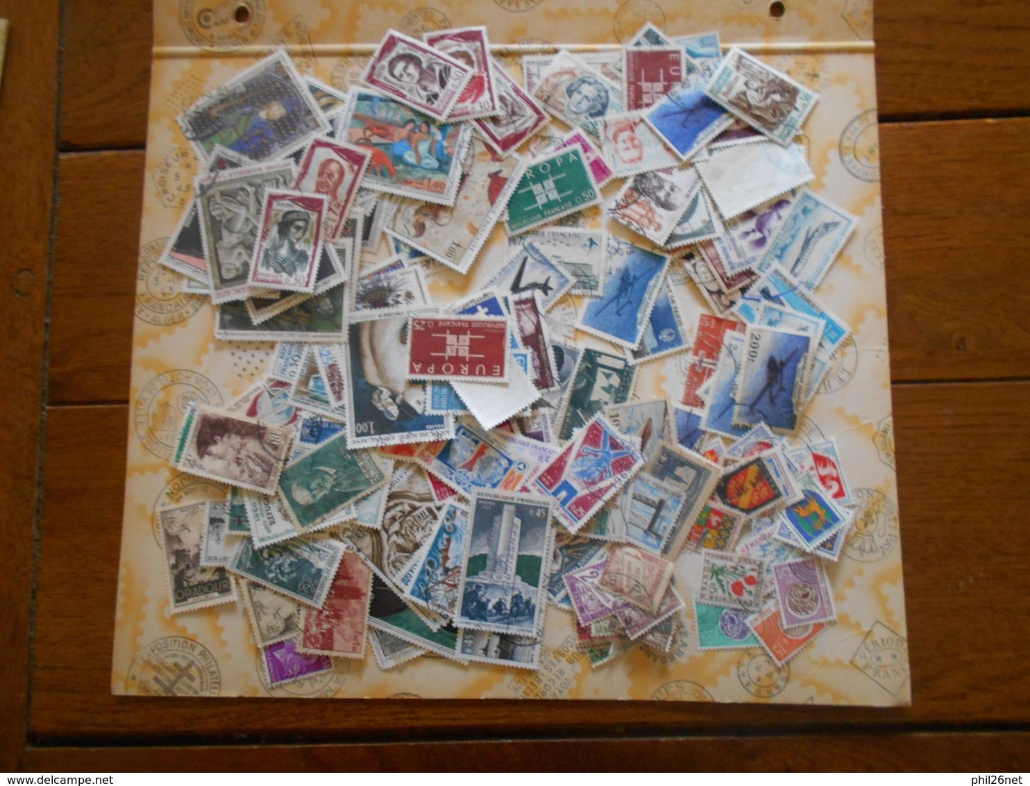 France  Belle Collection De Plusieurs Centaines D'oblitérés B/TB Entre 1900 Et 1970 Environ Et Fin De Catalogue Soldé ! - France