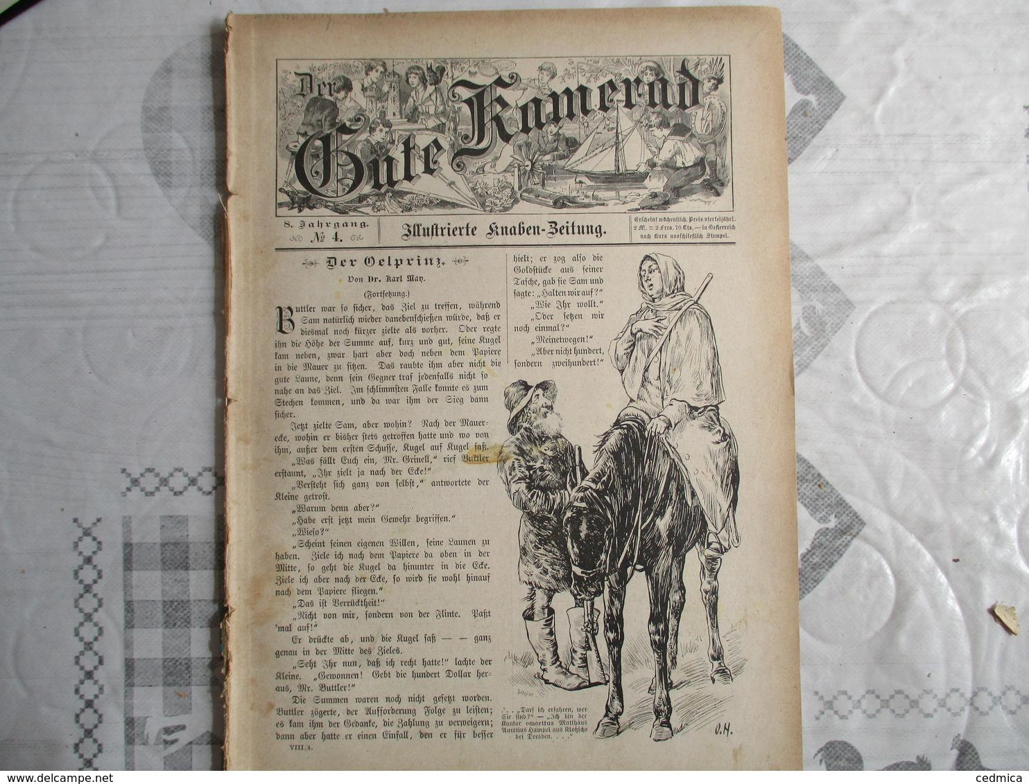 DER GUTE KAMERAD N°4  8. JAHRGANG 1895 - Revues & Journaux