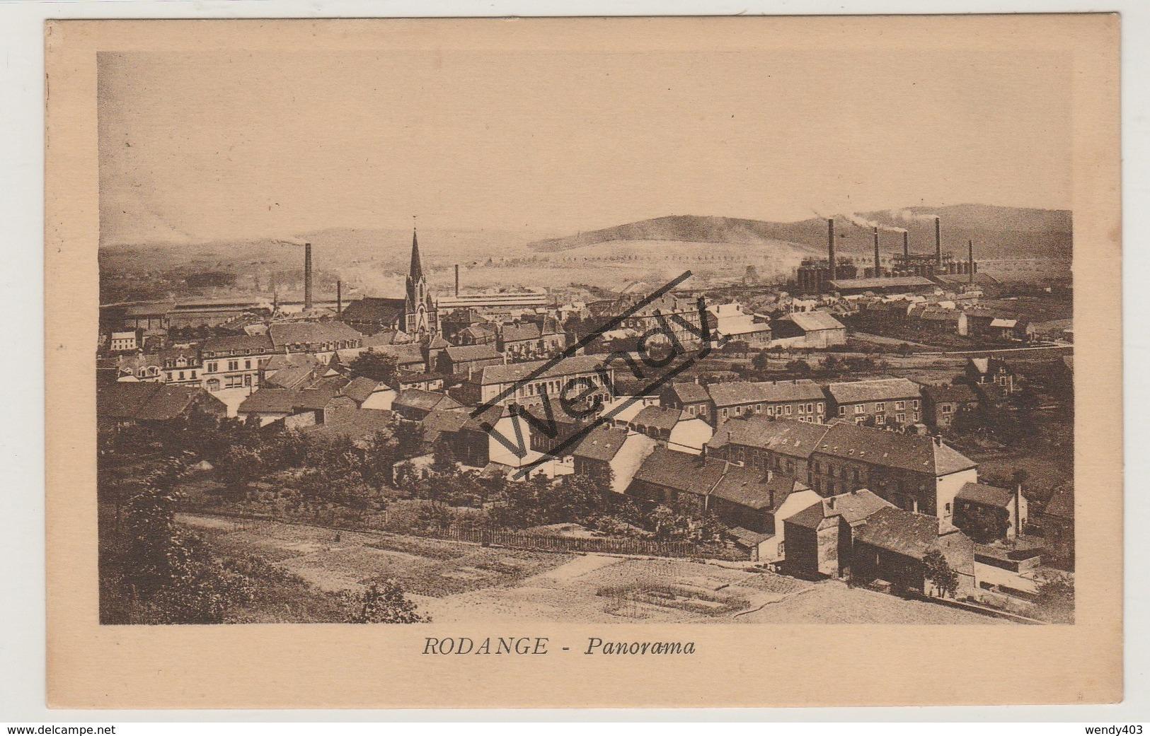 Rodange - Panorama - Rodange