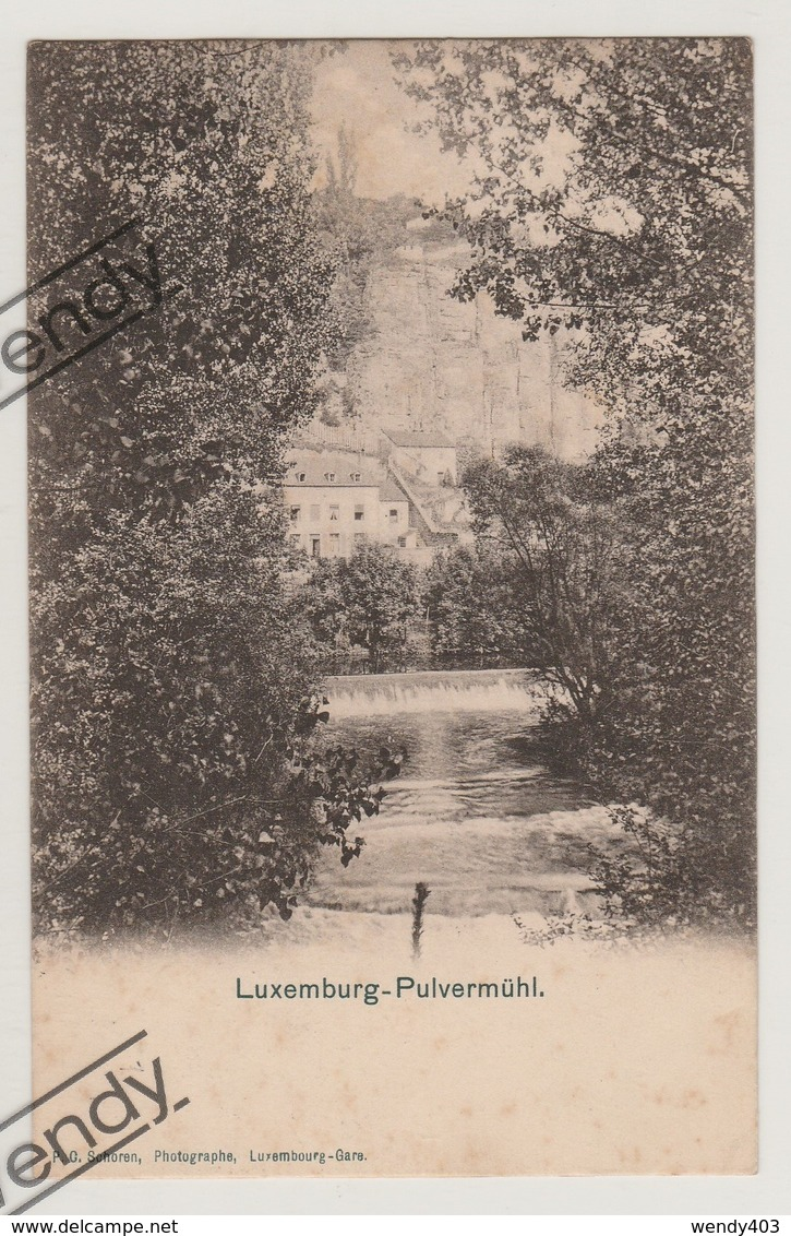 Luxembourg - Pulvermühl - Luxembourg - Ville
