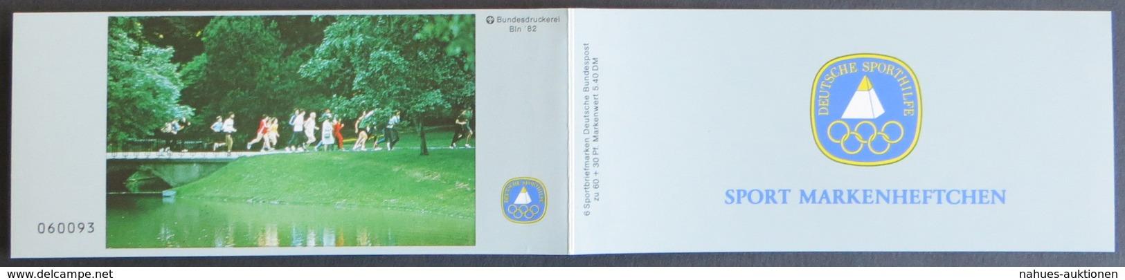 Sport Markenheftchen 1982 Dauerlauf Jogger Postfrisch - BRD