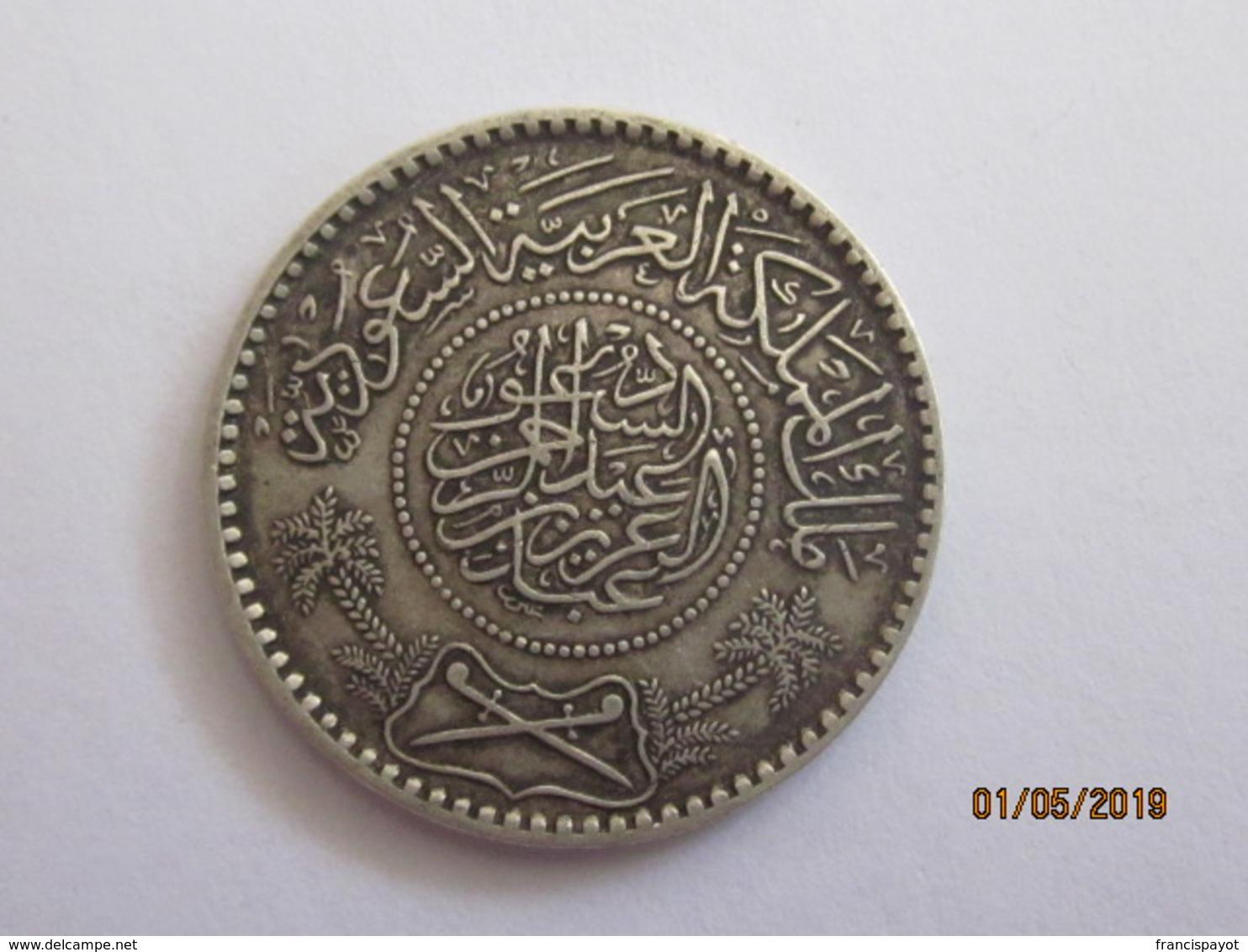 Arabie Saoudite: 1/2 Riyal 1354 / 1935 (silver) - Saudi Arabia