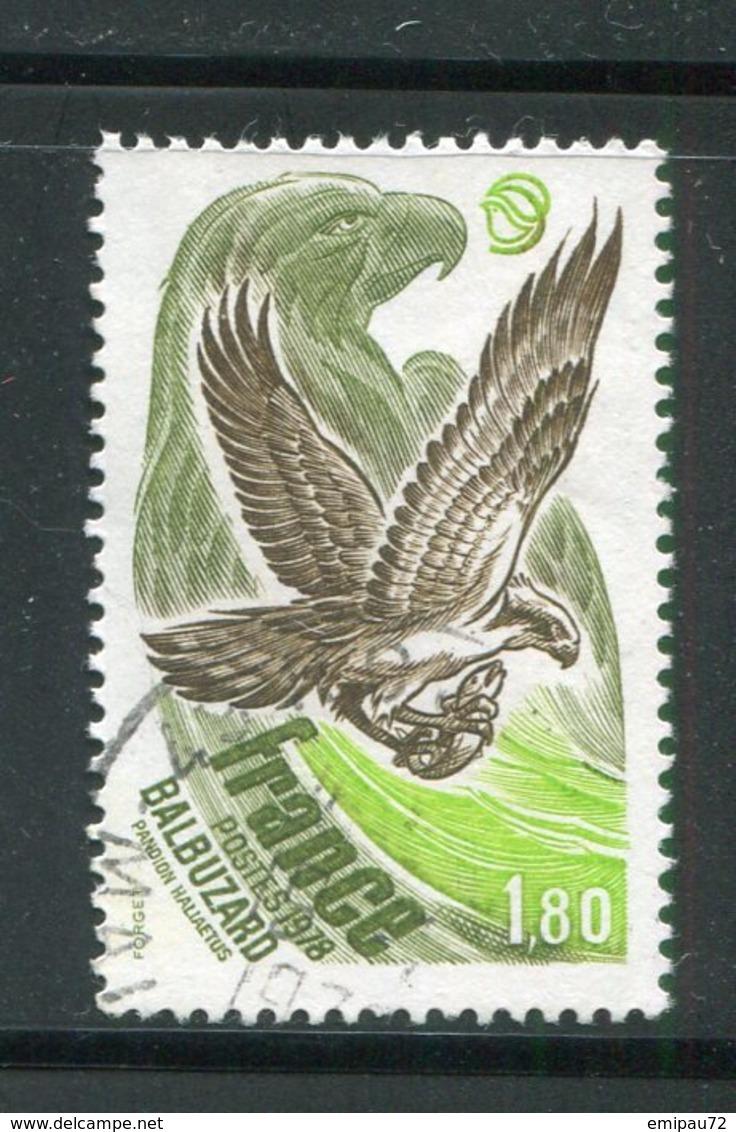 FRANCE- Y&T N°2018- Oblitéré (Balbuzard) - Eagles & Birds Of Prey