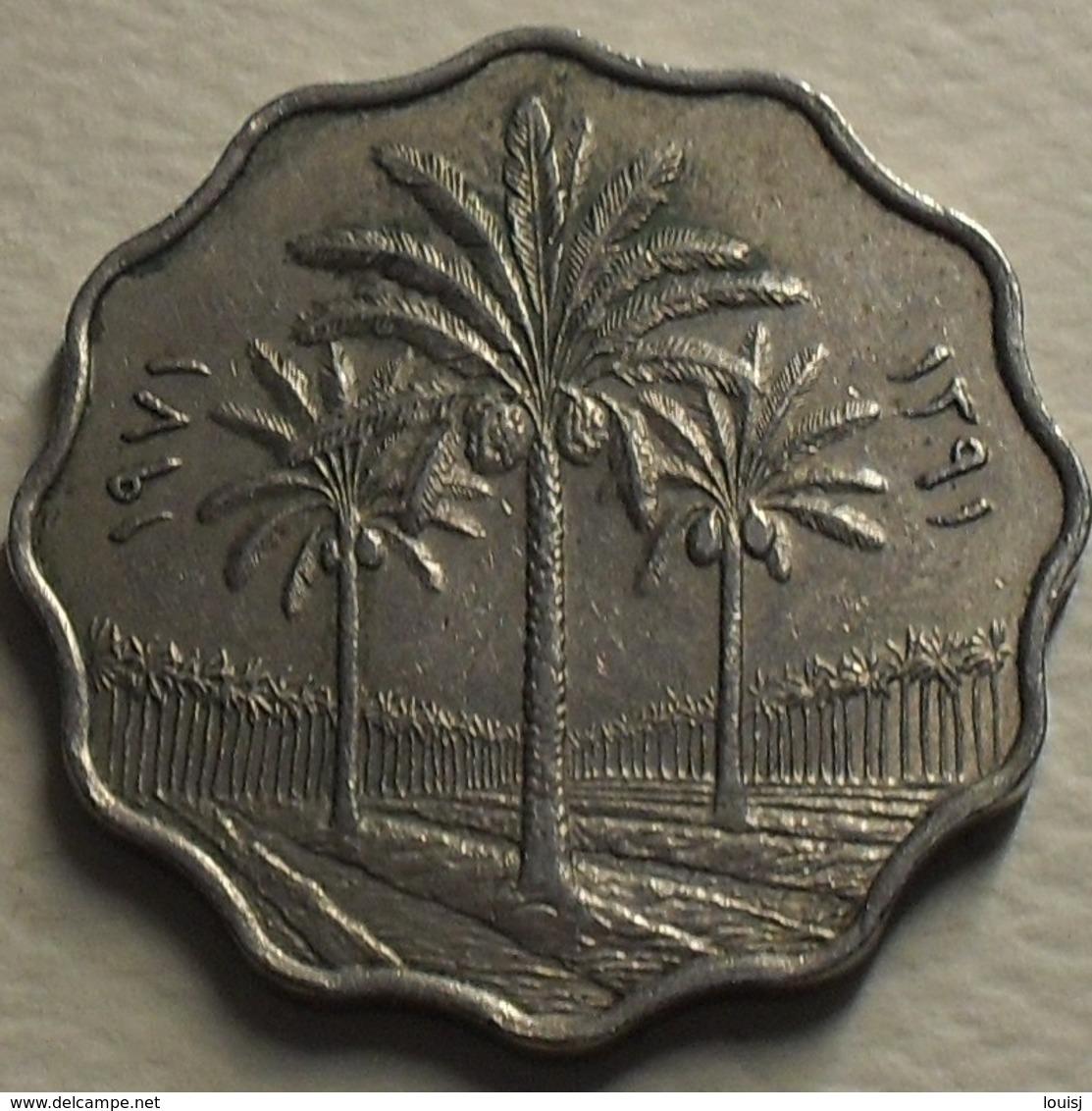 1971 - Irak - Iraq - 1391 - 10 FILS - KM 126a - Iraq