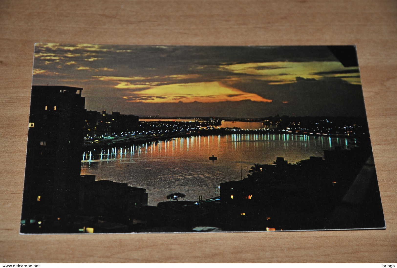 9220-   TYPICAL SUNSET VIEW OF THE CONDADO LAGOON, PUERTO RICO - Costa Rica