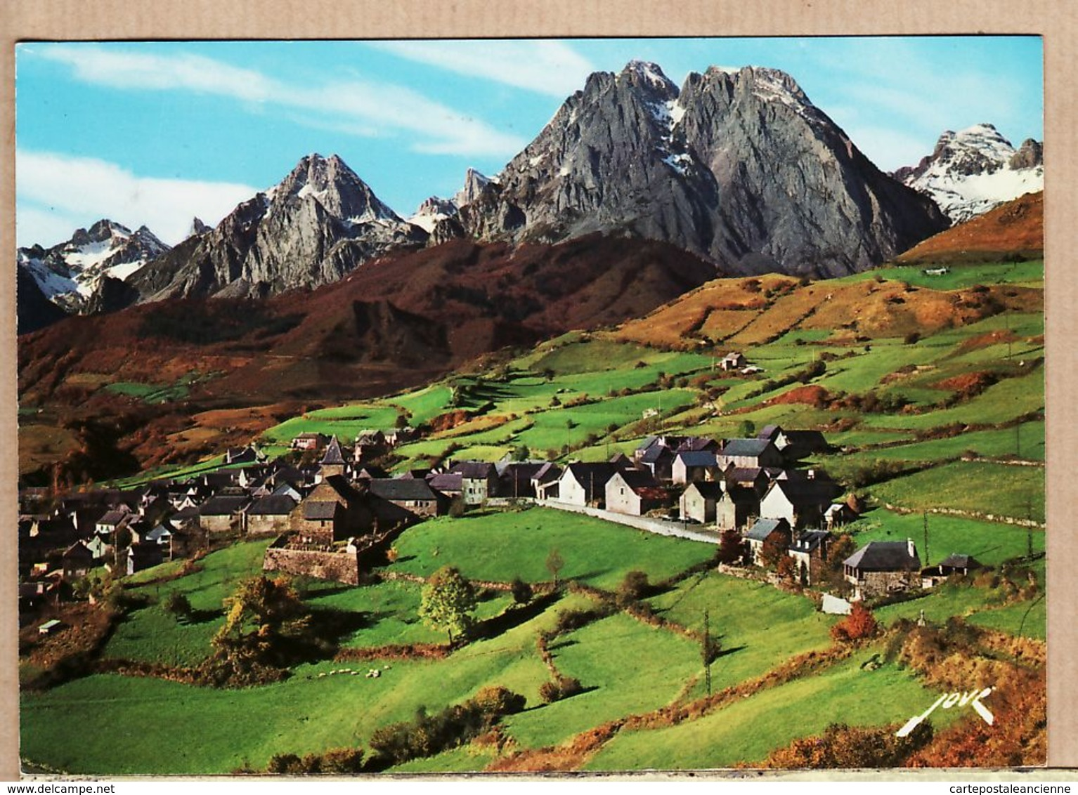 X64506 LESCUN Euskadi Le PIC De PETRAGEMME Deck De LURS BILLARE Et ANIE - JOVE ARTPYR N°1137 - Basses Pyrenees - Francia