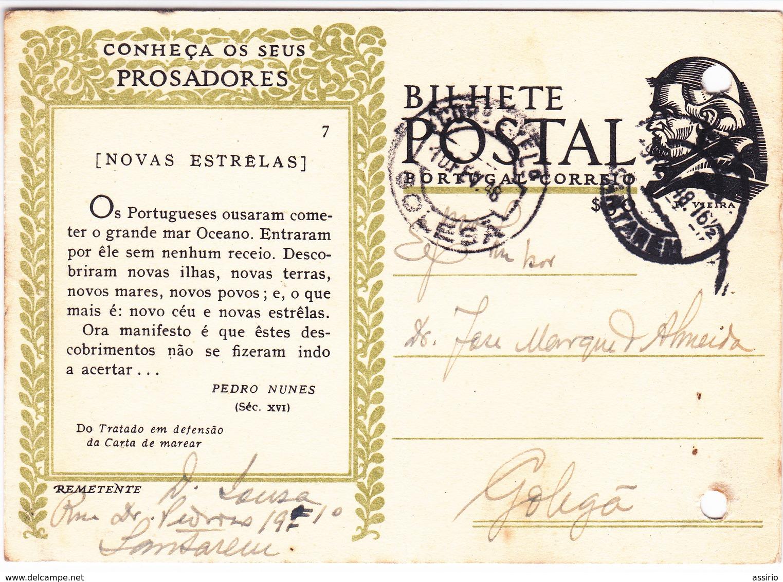 Portugal 5  Bilhetes Postais Com Carimbos Diferentes - Marcophilie