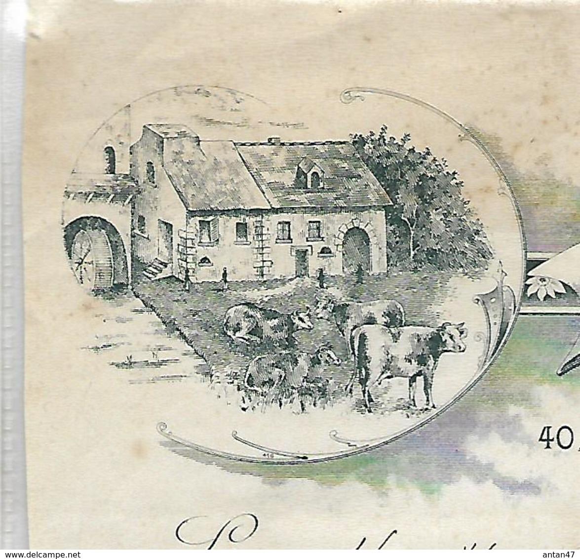 Lettre 1917  / 90 BELFORT / Fromages Charles SCHWARTZ - 1900 – 1949